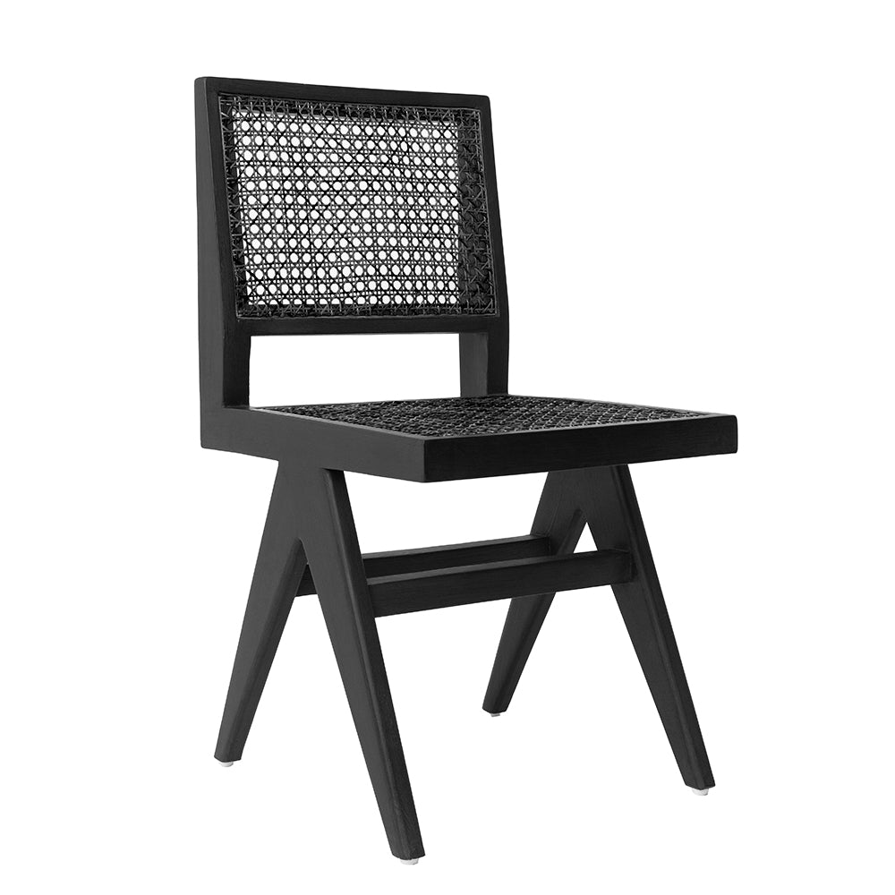 CANE DINING CHAIR - BLACK *** Pre Order