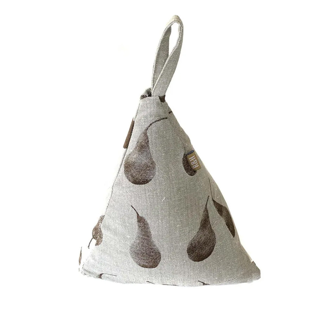 PEAR TRIANGLE DOOR STOPPER - EARTH BROWN