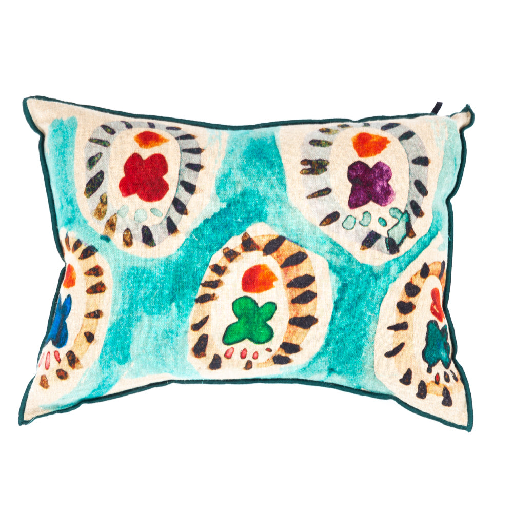 Elitis Jaipur Cushion 100% LINEN