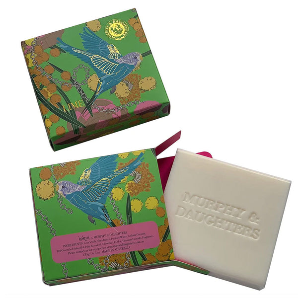 Murphy & Daughters Boxed Soap - Lime