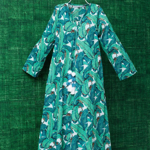 Cotton Kaftan Designed by Rachel Elizabeth Interior Design and Textiles in Brisbane Queensland Australia