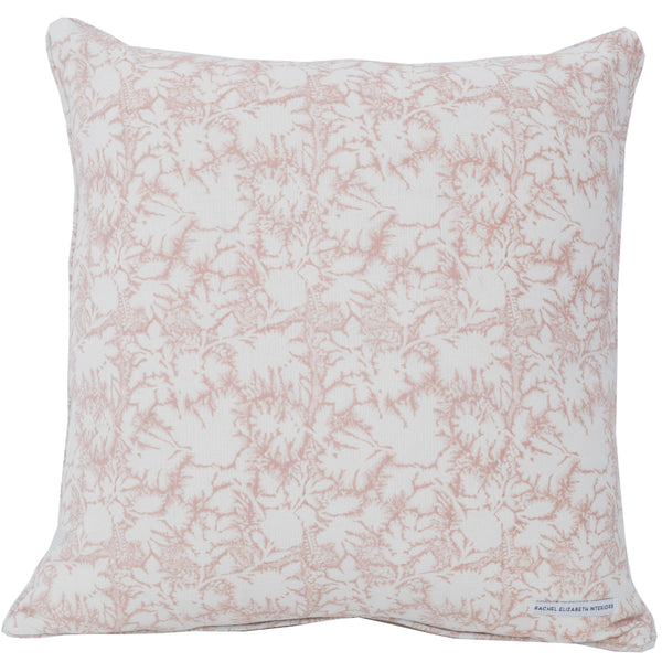 SECRET GARDEN CUSHION - MARSHMELLO PINK (COVER ONLY)
