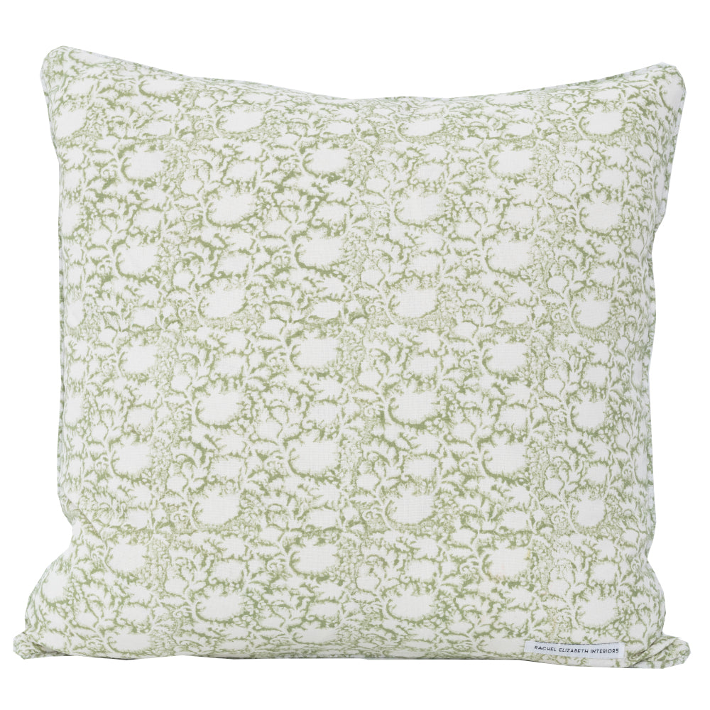 SECRET GARDEN CUSHION - GREEN FORREST