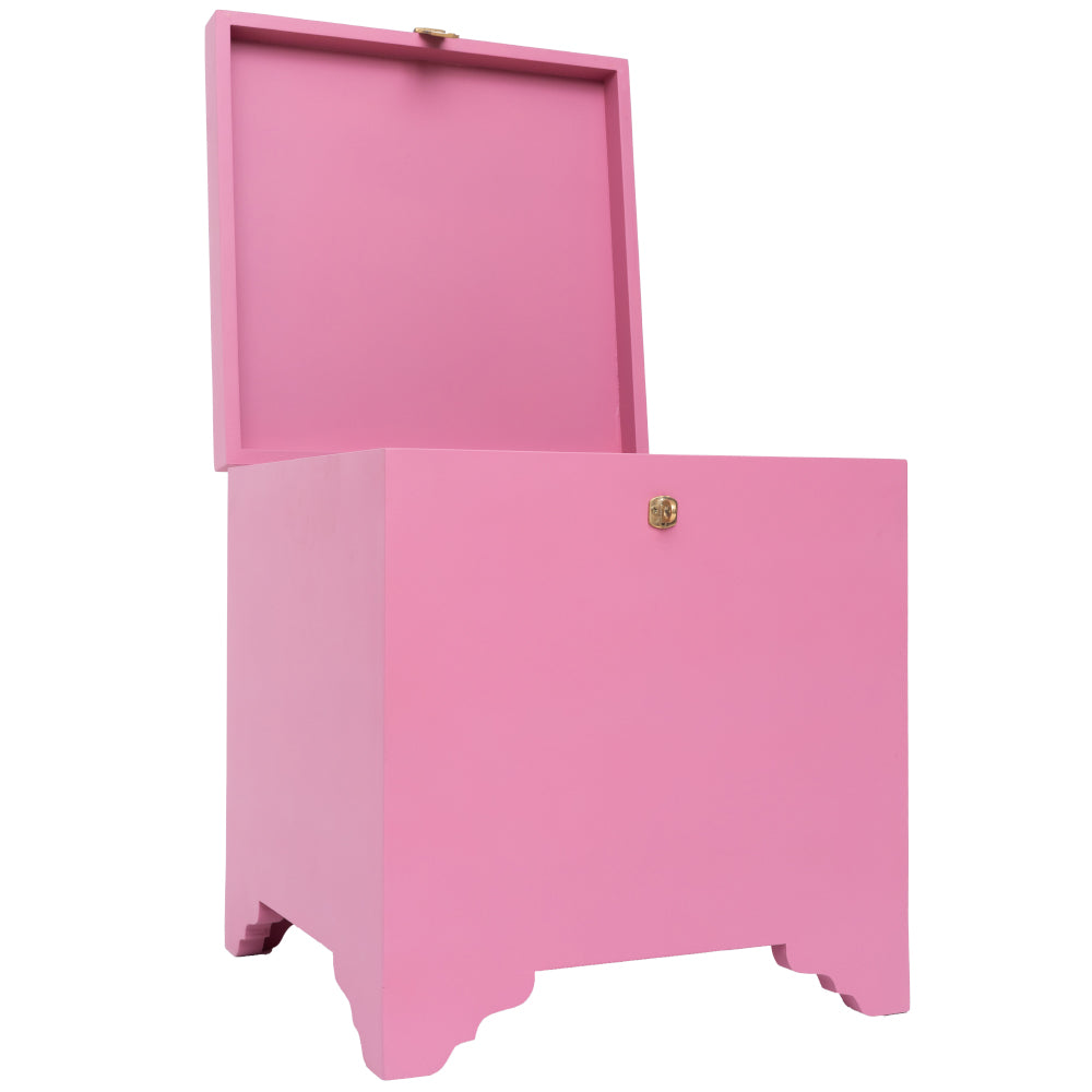 WOODEN TRUNK - PINK