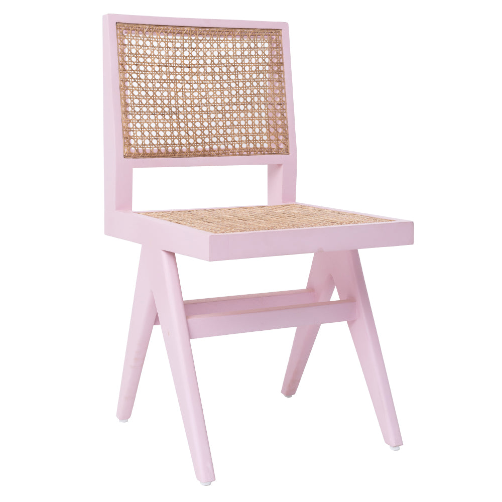 CANE DINING CHAIR - MUSK