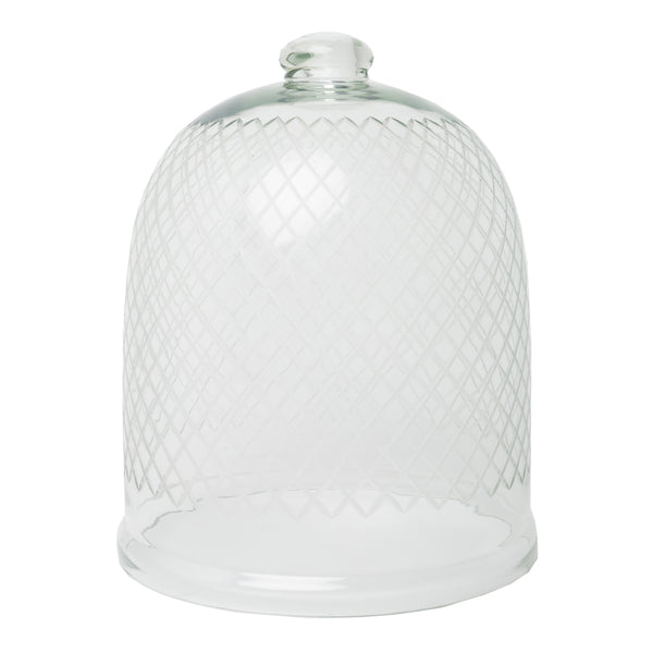 GLASS CLOCHE - SMALL