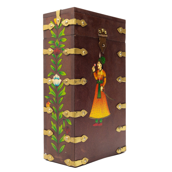 MAHARAJA WINE BOX - BROWN