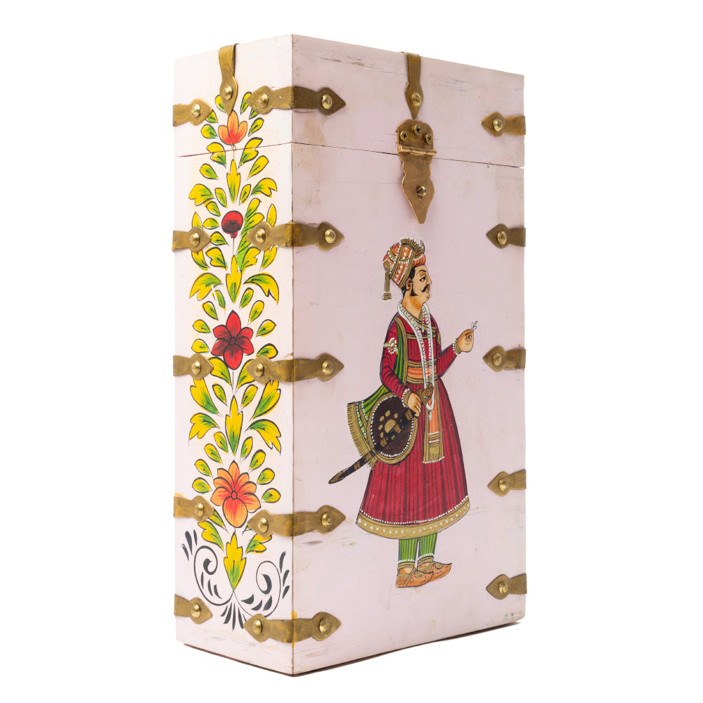 MAHARAJA WINE BOX - PINK