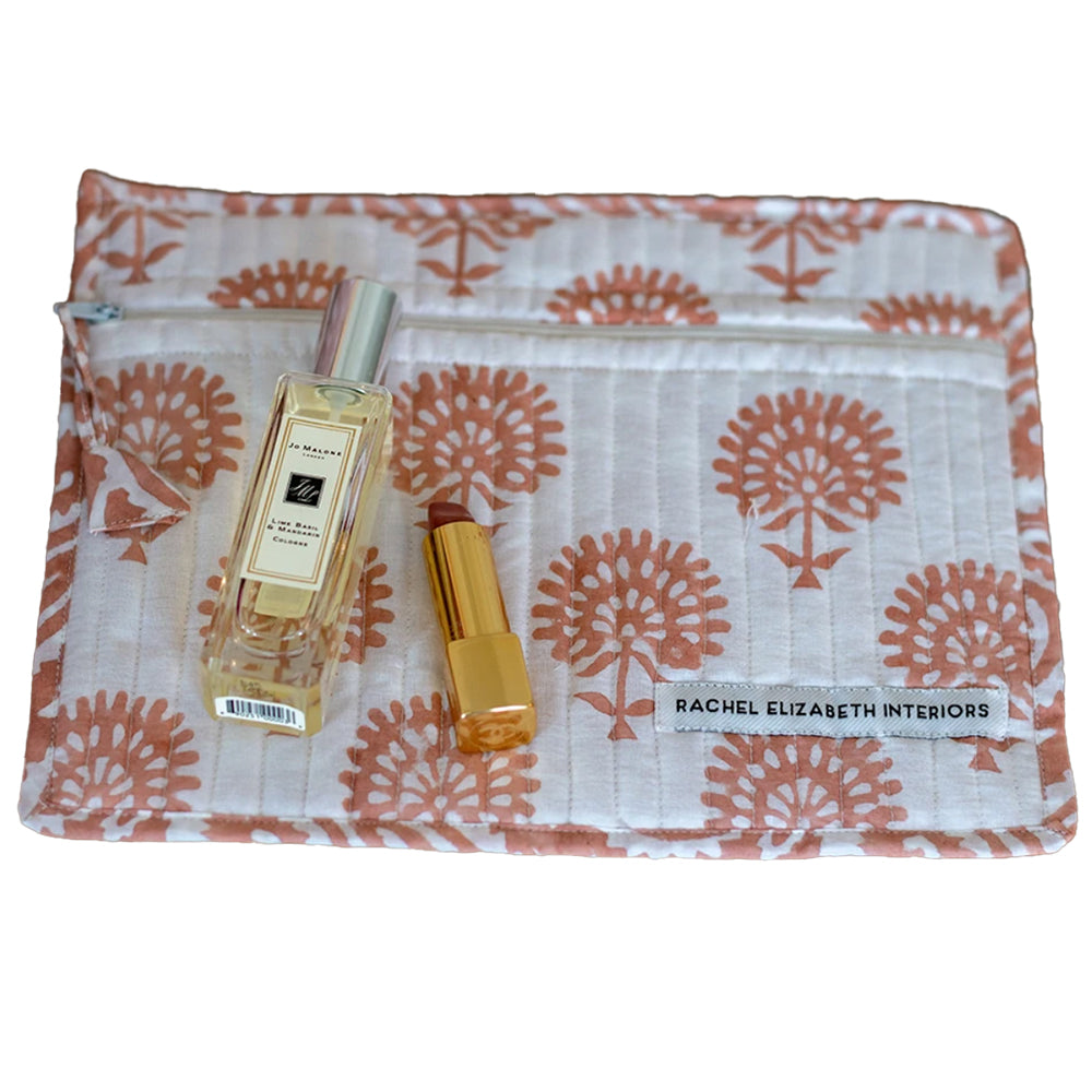 ORGANIC COTTON COSMETIC POUCH