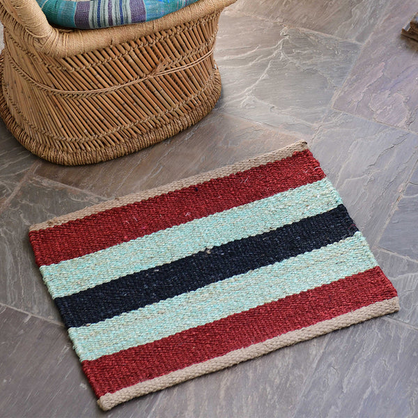 Hand-Woven Jute Doormat - The Madaket