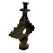 TAMEGROUTE CERAMIC SINGLE CANDLE HOLDERS - BLACK