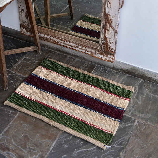 Hand-Woven Jute Doormat - The Hampton
