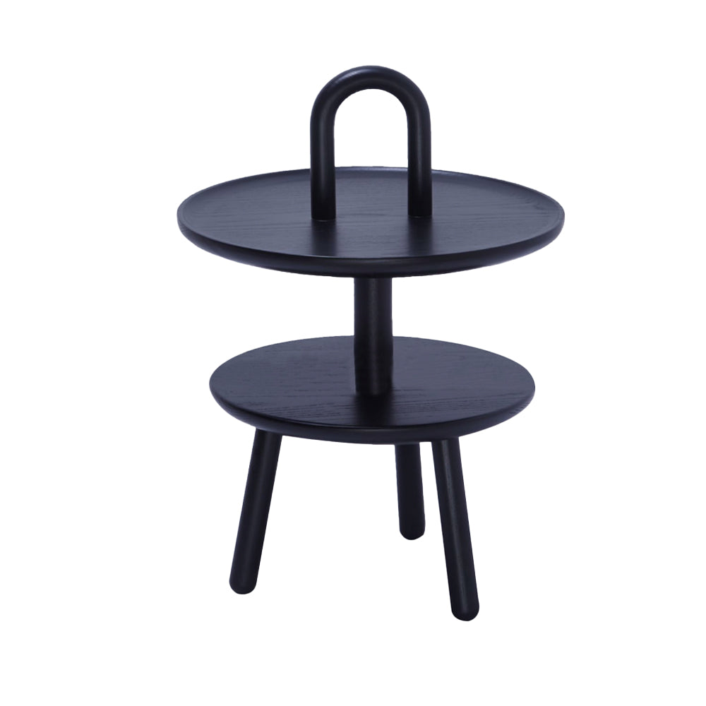 SIDE TABLE CHARCOAL