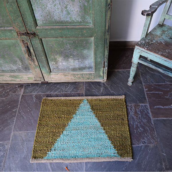 Hand-Woven Jute Doormat - The Newport