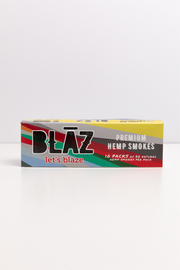 Carton: 20 Pack Premium Natural Hemp Smokes