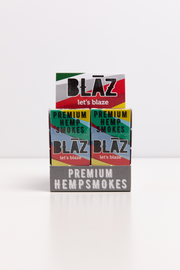 Carton: 10 Pack Premium Natural Hemp Smokes