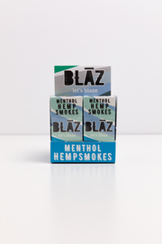 Carton: 10 Pack Premium Menthol Hemp Smokes