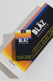 Carton: 10 PACKS of 20 Pack Blāz Reserve Ultra-Premium Hemp Smokes