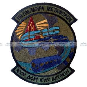 HELLENIC AIR FORCE 116CW F-16 TRANSPORT SQN LOW VISIBILITY PATCH