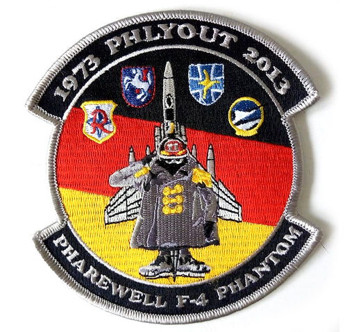 PHAREWELL F-4 PHANTOM 1973 PHLYOUT 2013 GERMAN AIR FORCE