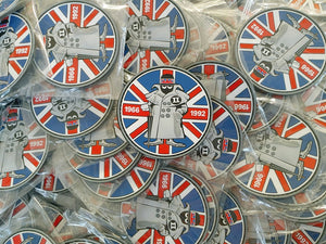 UK SPOOK MASCOT PVC PATCH No 02/12