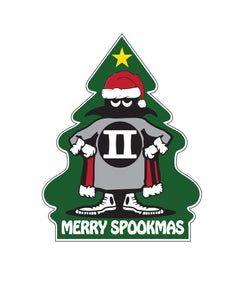 MERRY SPOOK MAS EMBROIDERED PATCH