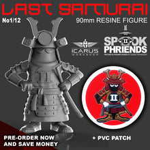 Load image into Gallery viewer, LAST SAMURAI SPOOK MASCOT 90mm RESIN FIGURE