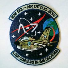 Load image into Gallery viewer, HELLENIC AIRFORCE 336 SQN A-7E CORSAIR AIR TATTOO 2014 PATCH (APS MADE)