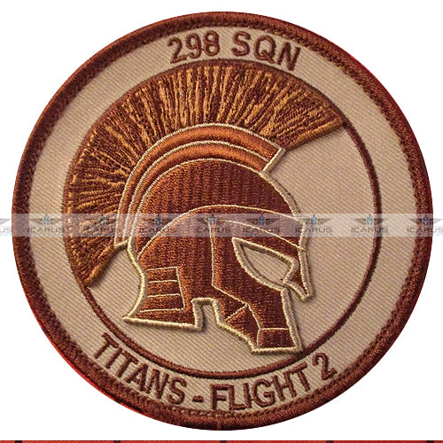 3D ORIGINAL AIR FORCE SQUADRON PILOT PATCH NETHERLANDS KLu 298 SQ CH-47 FLIGHT 2