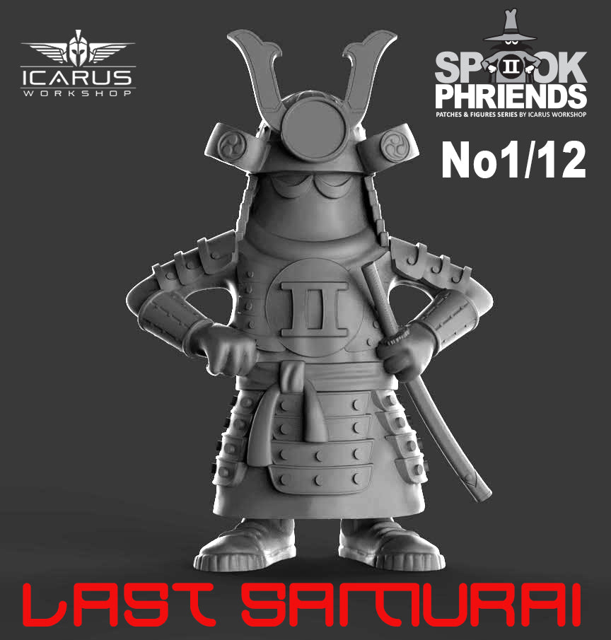 LAST SAMURAI SPOOK MASCOT 90mm RESIN FIGURE