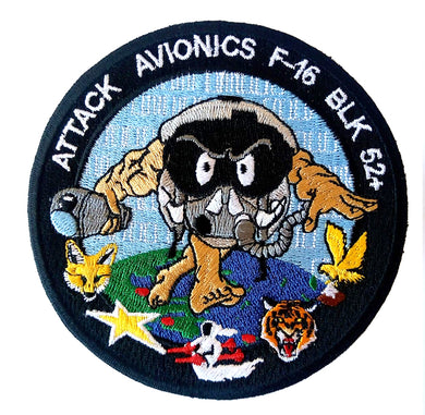 ATTACK AVIONICS F-16 BLOCK 52+ SQUADRONS HELLENIC AIR FORCE