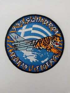 335sqn AEGEAN TIGERS F-16 PATCH