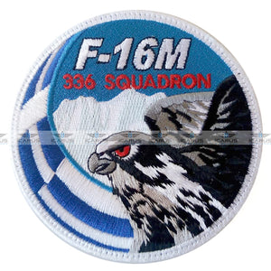 HELLENIC AIR FORCE F-16 Fighting Falcon Swirl of  336SQN PATCH