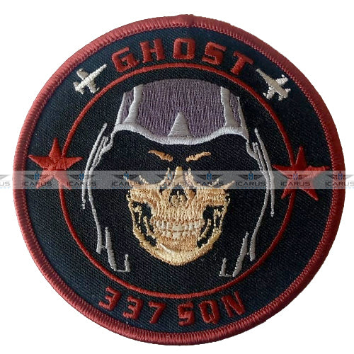 HELLENIC AIR FORCE 337 SQN PILOT PATCH