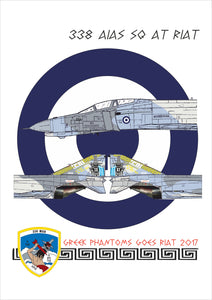"338 SQ ARES ""GO TO RIAT "" DECALS"