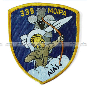 "HELLENIC AIR FORCE 339 SQN ""AIAS"" F-4 PHANTOM PILOT PATCH"