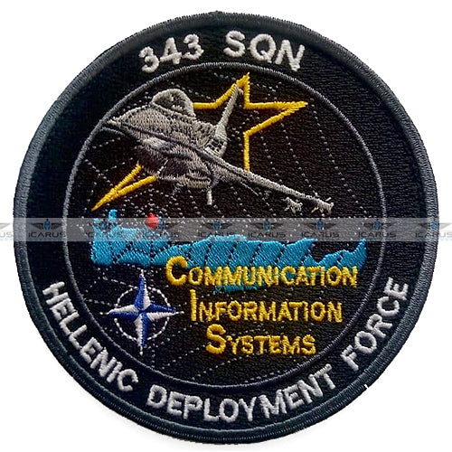 HELLENIC DEPLOYMENT FORCE 343Sqn