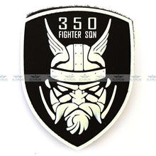 Load image into Gallery viewer, BELGIAN AIR FORCE 350 SQN PVC PATCH