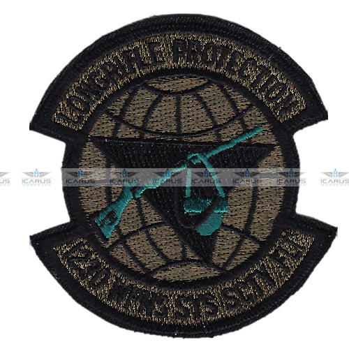USAF 123d WPNS SYS SCTY FLT Standiford Field Louisville Kentucky patch