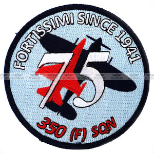 350 SQN FORTISSIMI SINCE 1941 75 YEARS- BAF