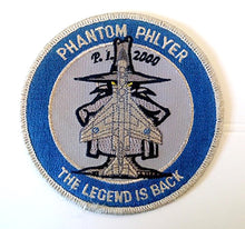 "Load image into Gallery viewer, P.L. 2000 PHANTOM PHLYER ""THE LEGEND IS BACK"" Patch"