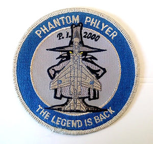 "P.L. 2000 PHANTOM PHLYER ""THE LEGEND IS BACK"" Patch"