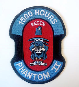 RECCE PHANTOM II 1500 HOURS HAF Patch