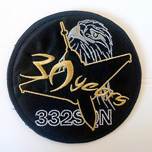 MIRAGE 2000 332M 30 YEARS ANNIVERSARY PATCH 2