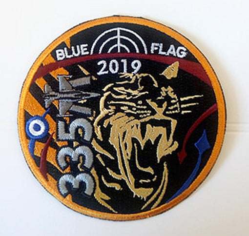 335 SQN BLUE FLAG 2019 PATCH