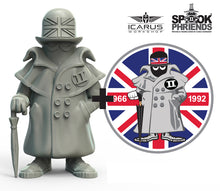 Load image into Gallery viewer, UK SPOOK MASCOT 90mm RESIN FIGURE AND PVC PATCH