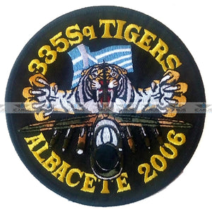 HELLENIC AIR FORCE 335 SQ A-7 TIGERS / ALBACETE 2006