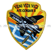 Load image into Gallery viewer, HELLENIC AIRFORCE VENI VIDI VICI  A-7E CORSAIR II 336 SQN OLYMPOS
