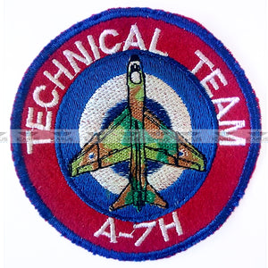 HELLENIC AIRFORCE A-7H CORSAIR TECHNICAL TEAM