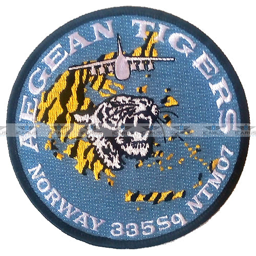 HELLENIC AIR FORCE 335 SQ A-7 AEGEAN TIGERS / NTM2007 NORWAY
